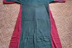 Šaty s klíny - jednobarevné látky
