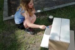 Barvení krabice
