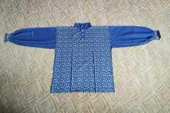 Pánská košile ze dvou druhů látek 2