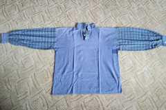 Pánská košile ze dvou druhů látek 1